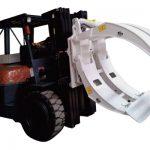 Gaffeltrucksbilagor 360 rotation klämmor med enarmarm