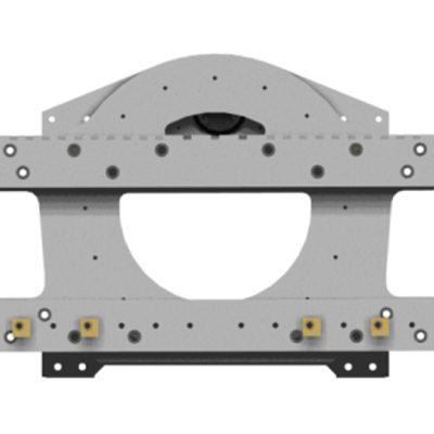 Trumrotator gaffeltruck