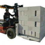 Hydraulisk gaffeltruck Betongstenar / blocklyftklämma
