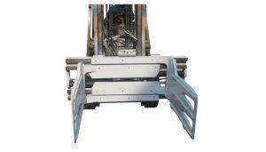 Gaffeltruck roterande balklämma