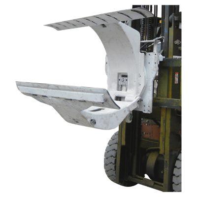 3 ton dieselgaffeltruck med pappersrulleklämmor