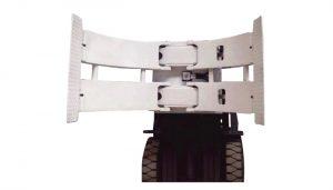 Materialhanteringsutrustning 2ton TB-serie rullpalltruck manuell palettstaplare Pappersrulleklämma