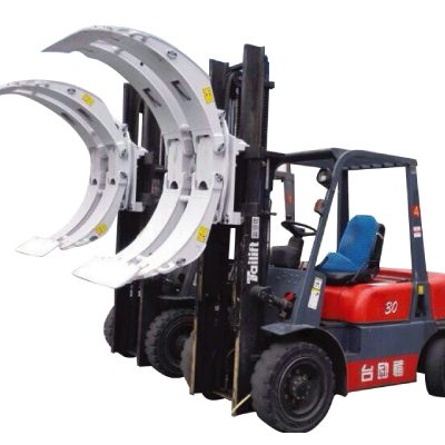 Gaffeltruck Swing Frame Paper Roll Clamp