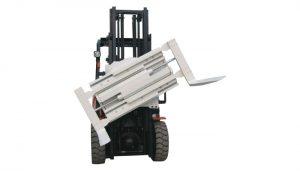 Tillverkare i Kina 3 ton gaffelklipp för gaffeltruckar Revolverande gaffelklämmor