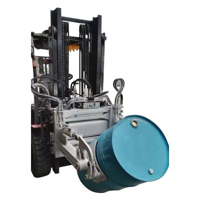 Hydraulisk gaffeltruck 55 Ggallon trumklämma för gaffeltruckar