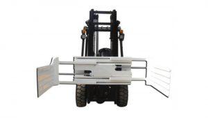 Stor öppningskedja för lyftbilens fästelement med gaffeltruck