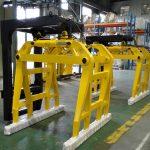Högkvalitativ gaffeltruck betongklocka blockklämmor till salu