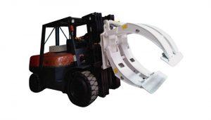 Materialhanteringsutrustning Gaffeltruck Pappersrulleklämma