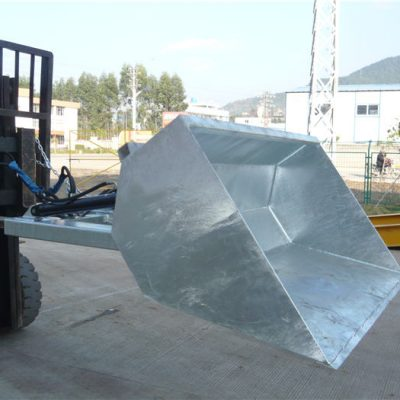 3 ton gaffeltruck med hink, hydraulisk hink